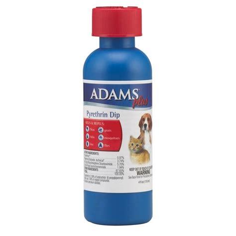adams  pyrethrin dip  pets  oz dog products