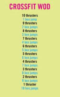 CrossFit WOD Workout Routine