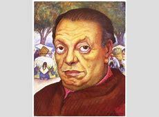 Faces Diego Rivera Portrait Art