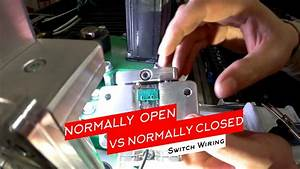 How To Wire Normally Open  No  Vs Normally Closed  Nc