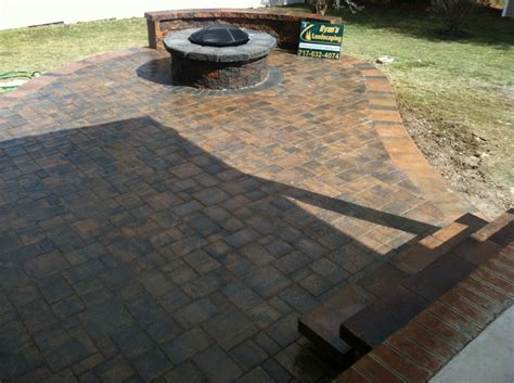 brick paver patio installation photos 12 best images about patio ideas on pits