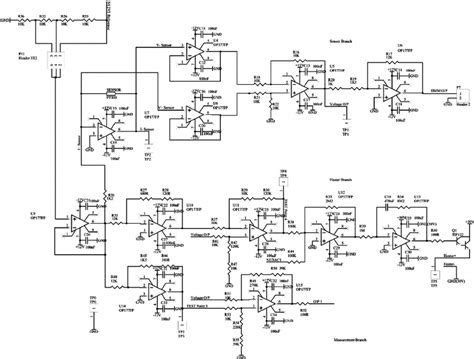 circuit diagram of the heater driver and temperature