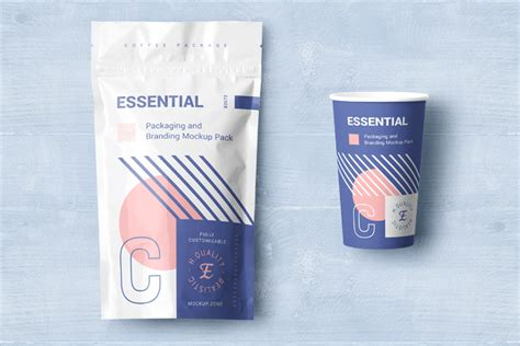A rendered mockup of a product package box with hang slot. 54+ Free Packaging Mockup PSD Designs Vector Illustrator ...