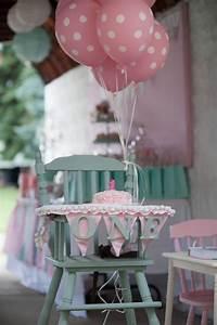 Decoration Pour Bapteme Fille : d coration anniversaire 1 an 50 id es mignonnes party d coration anniversaire 1 an ~ Mglfilm.com Idées de Décoration