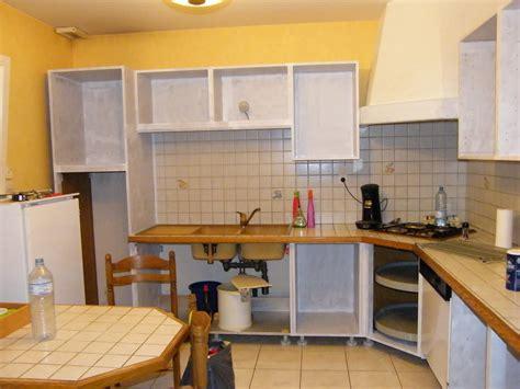 repeindre une cuisine comment peindre des portes en bois 3 r233nover une