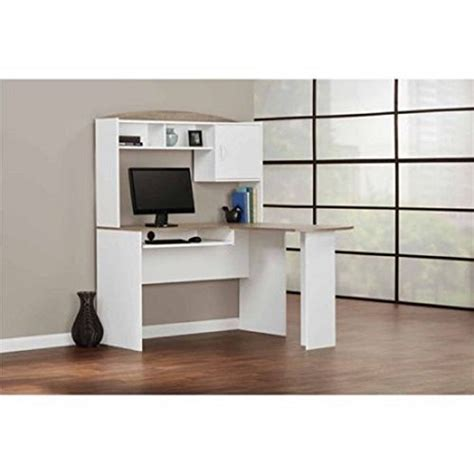 mainstays l shaped desk with hutch finishes mainstays l shaped desk with hutch finishes