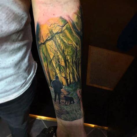dog tattoos  men canine ink design ideas part