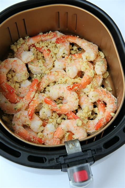 fryer shrimp air cooking parmesan recipes recipe fried cook dishes food garlic bitzngiggles oven minutes flavorful simple ready fish chicken