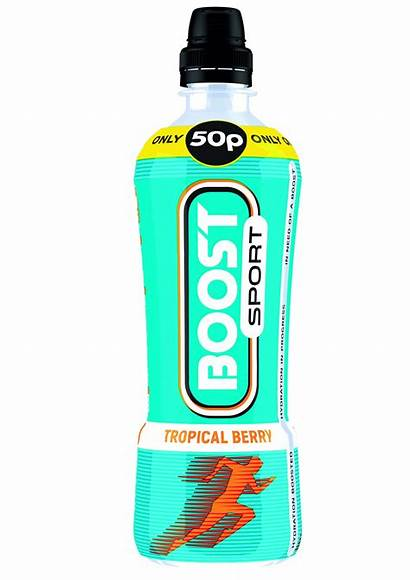 Boost Sport Berry Tropical 49p 50p Drinks