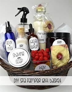 Oil & Butter: DIY Spa Pamper Gift Basket