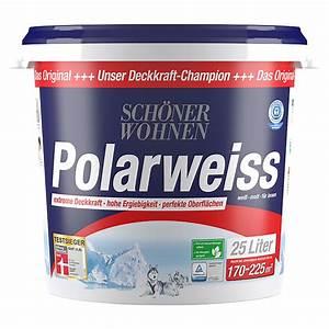 Schöner Wohnen Polarweiss : sch ner wohnen polarwei wei 25 l matt 5861 null ~ Watch28wear.com Haus und Dekorationen