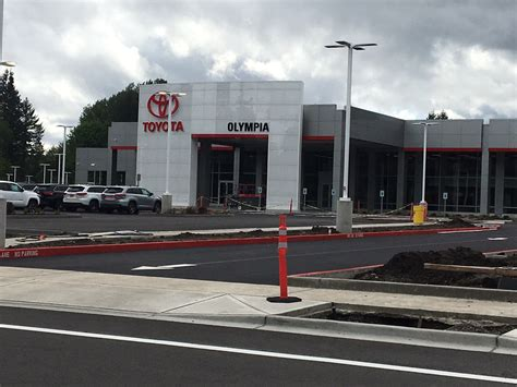 Olympia Toyota by Toyota Of Olympia Opens Tumwater Location To Better Serve