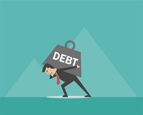 dealing  heavy debt
