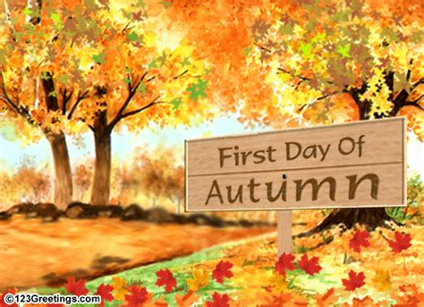 First Day Of Fall 2019 day  autumn clip art cliparts 550 x 400 · gif