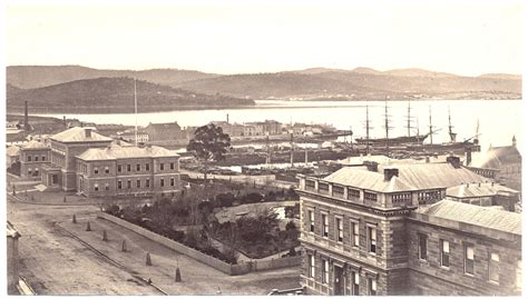 photograph  franklin square  hobart waterfront