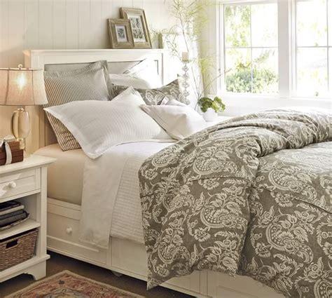 cynthia storage bed dresser set pottery barn