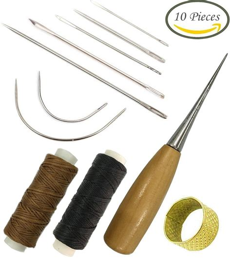 Upholstery Needle by Professional Repair Kit Canvas Carpet Curved Upholstery