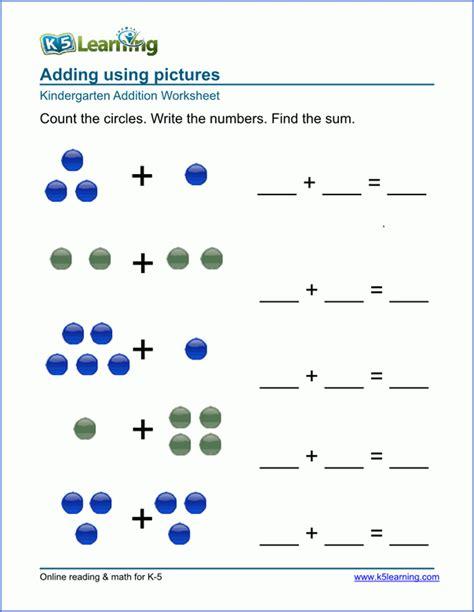 Free Printable Kindergarten Math Worksheets Healthsymptomsandcurecom