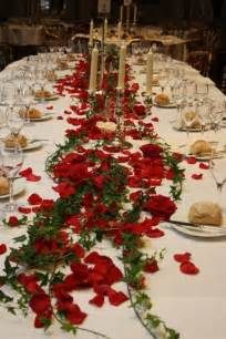mariage rouge  blanc quelques idees decoration forum