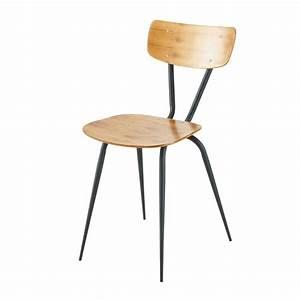 Chaise Jardin Maison Du Monde : 2 chaises vintage ferry maisons du monde ~ Premium-room.com Idées de Décoration