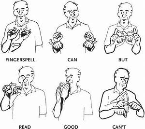i can fingerspell but can39t read it well gebardensprache With sign language documents