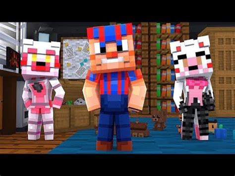 mangle  funtime foxy jr meets  brother balloonboy