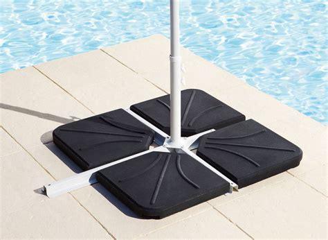 dalle pour parasol deporte dalle pour parasol d 233 port 233 poids 15 kg 224 petit prix hesp 233 ride