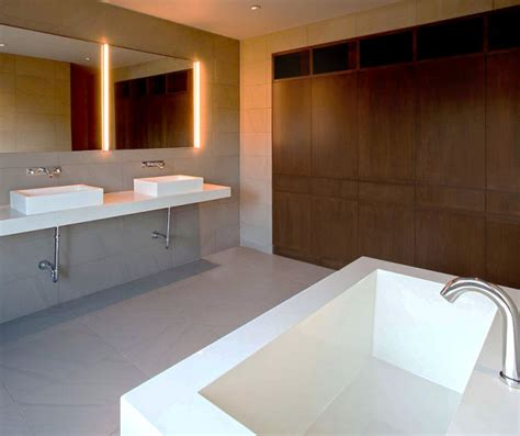 bathrooms  showcase minimalist design