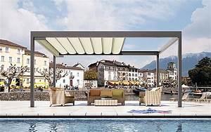 Pavillon Mit Lamellendach : pavilions sun protection with stobag ~ Orissabook.com Haus und Dekorationen