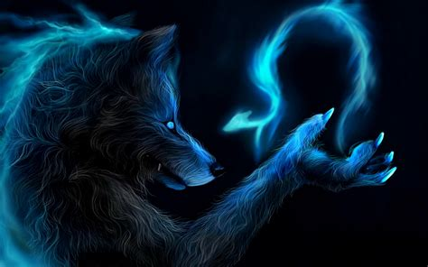 wolf  dragon wallpaper