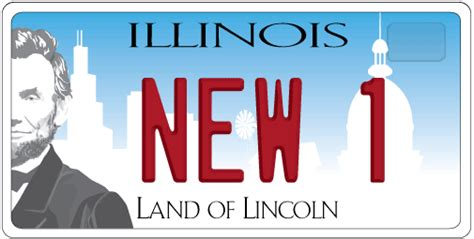 Vanity Plates In Illinois by A Plate