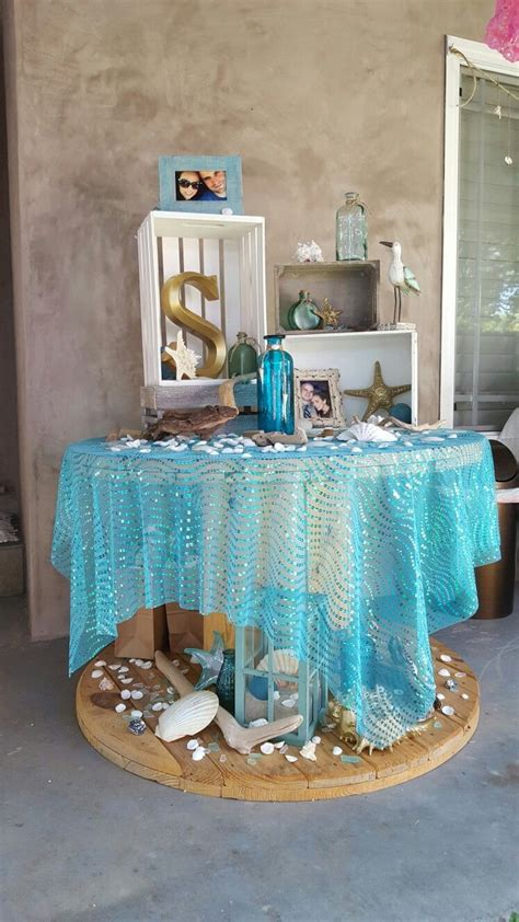 beach bridal shower theme ideas decorations ariels