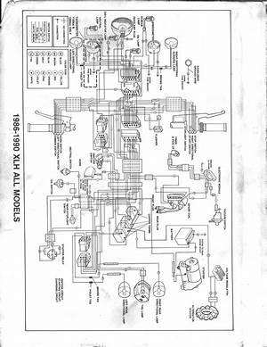 1993 Harley Davidson Sportster 883 Wiring Diagram 41408 Verdetellus It