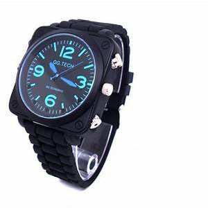 New Spy Camera Watch Sound Activated Pinhole Spy Watch ...