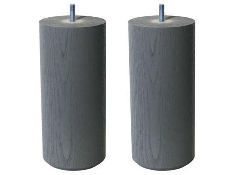 pied de lit conforama jeu de 2 pieds h20 cm bar coloris gris vente de pied de lit conforama