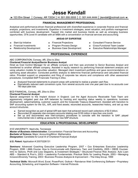 resume sle for banking and finance resume financial analyst best format in 2016 2017 resume 2016