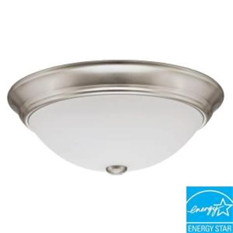 lithonia lighting 1 light nickel fluorescent ceiling