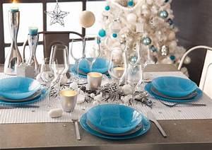 Deco Pour La Maison : deco de table pour noel fait maison 4 une d233ferlante de bleu dans la d233co maison ~ Teatrodelosmanantiales.com Idées de Décoration