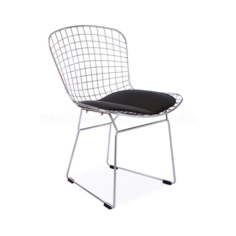 bertoia wire side chair the furniture company ltd