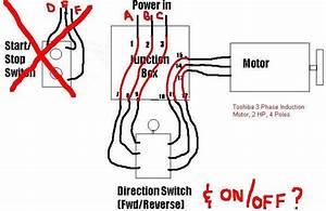 Single Phase Ac Motor Reversing Switch Wiring Diagram