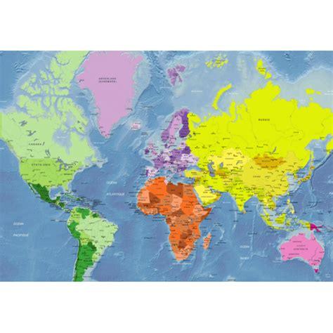Carte Politique Du Monde à Imprimer by Carte Politique Du Monde Mercator