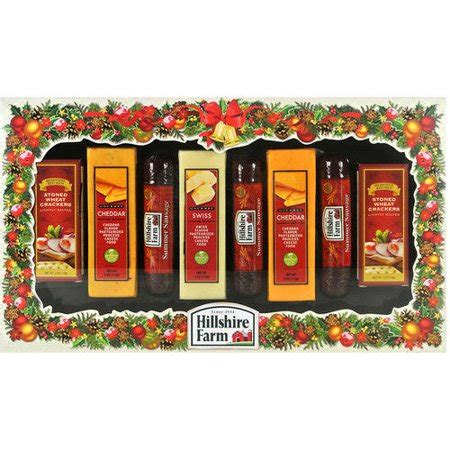 hillshire farm christmas gift set bay island hillshire farm cheese trio walmart