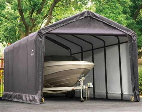 Boat Garage Kits by Portable Garage Shelter Storage Buildings Canopies