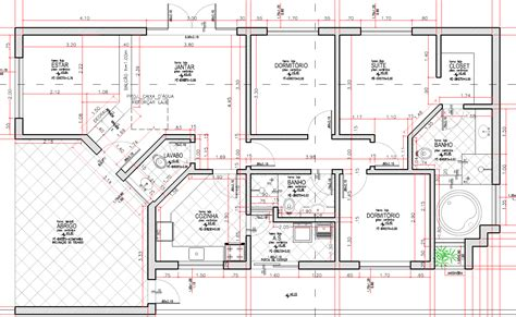Creative Small Kitchen Ideas - planta baixa do nosso projeto do curso projeto arquitetônico com autocad construction
