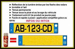 Plaque D Immatriculation Anti Radar : anti flash radar info ou intox ~ Maxctalentgroup.com Avis de Voitures