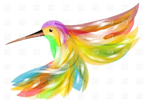 Hummingbird Vector Image Of Plants And Animals © Arkela