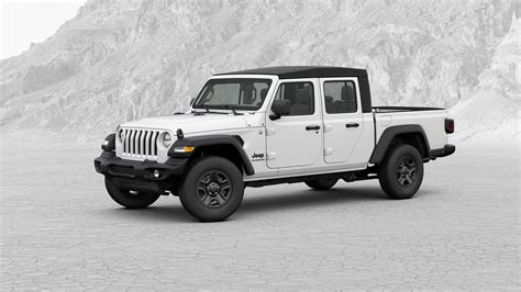 2020 Jeep Gladiator Pickup Truck Configurator Is Live