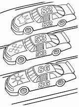 Coloring Race Driver Racecar Printable Getcolorings Pag sketch template
