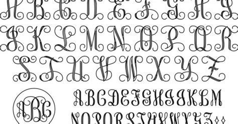 interlocking monogram script    pinterest