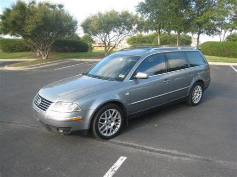 Find Used 2003 Vw Passat Wagon 4motion W8 Rare!!! Low
